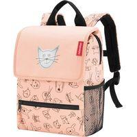 Tornistry i plecaki szkolne, Plecak dla dzieci Backpack Kids Cats and Dogs Reisenthel rose (RIE3064)