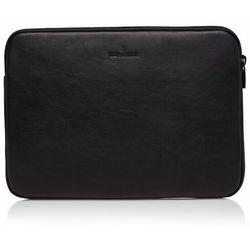 Castelijn & Beerens Nappa X Mike Futerał na laptopa RFID skórzana 38 cm przegroda na laptopa black ZAPISZ SIĘ DO NASZEGO NEWSLETTERA, A OTRZYMASZ VOUCHER Z 15% ZNIŻKĄ
