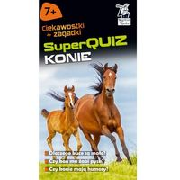 Literatura młodzieżowa, SuperQuiz Konie (opr. miękka)