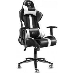 Fotel DIABLO CHAIRS X-Player Czarno-biały + Zamów z DOSTAWĄ JUTRO!