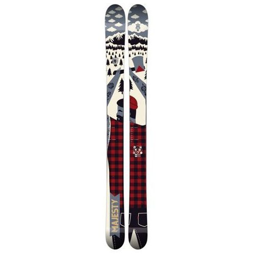 Narty, narty MAJESTY - Lumberjack (MULTI) rozmiar: 194