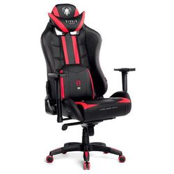 Fotel dla gracza DIABLO CHAIRS X-Ray czarno-czerwony rozmiar XL