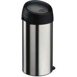 Kosz na śmieci metalowy 60 l z pokrywą Soft Touch Kosz na śmieci Meliconi