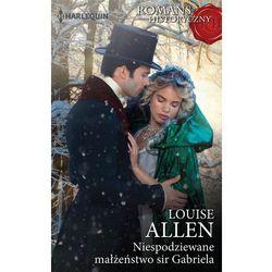 Niespodziewane małżeństwo sir Gabriela - Louise Allen (EPUB)