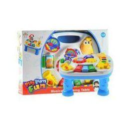 Multifunkcyjny stoliczek edukacyjny z żyrafą - Lean Toys