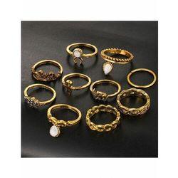 Zestaw damskich pierścionków Estilo Sabroso Es04938
