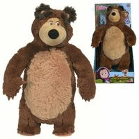 Pozostałe zabawki, Simba 109301083 Masza i Niedźwiedź Śmiejący Misza