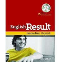 Książki do nauki języka, English Result Intermediate Ćwiczenia + MultiROM (opr. miękka)