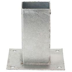 Podpora ze śrubami 70 x 70 mm ocynk