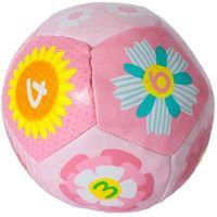 Pozostałe zabawki dla najmłodszych, Miękka piłeczka dla malucha różowa
