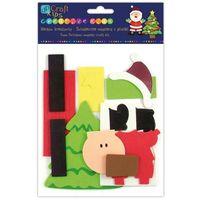 Kreatywne dla dzieci, Zestaw kreatywny świateczne magnesy z pianki