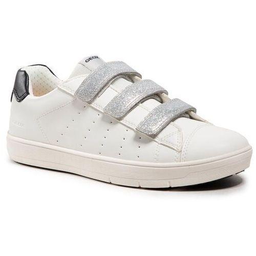 Damskie obuwie sportowe, Sneakersy GEOX - J Silenex G. B J15DWB 000BC C1000 S White