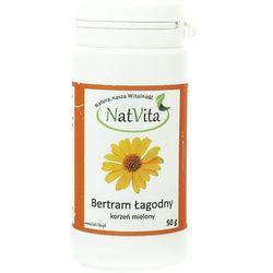 Bertram łagodny korzeń mielony zioła Świętej Hildegardy 50g NatVita