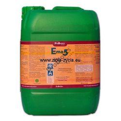 Ema5 10 litrów - to specjalnie przygotowana kompozycja mikroorganizmów na bazie - ProBiotics