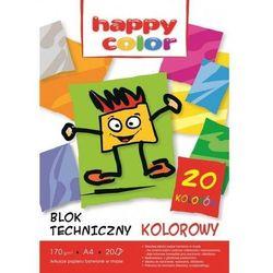 Blok techniczny A4/20k. 170g STAEDTLER HAPPY COLOR kolor HA 3717 2030-09
