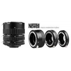 NEWELL Pierścienie pośrednie makro z automatyką - Nikon plastikowe