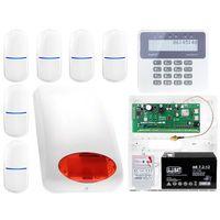 Zestawy alarmowe, System alarmowy SATEL Perfecta 6 x Czujka Powiadamianie Aplikacja mobilna