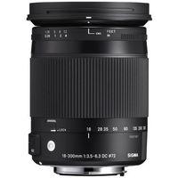 Obiektywy fotograficzne, Sigma 18-300mm F3.5-6.3 DC MACRO OS HSM