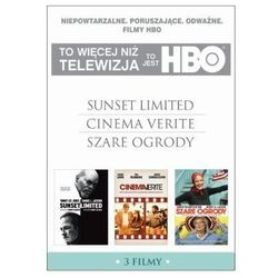 TO JEST HBO. PAKIET 3 FILMÓW (SUNSET LIMITED, CINEMA VERITE, SZARE OGRODY) (3 DVD) GALAPAGOS Films 7321910323809