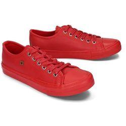 BIG STAR EE274381 czerwony, półtrampki damskie - Czerwony