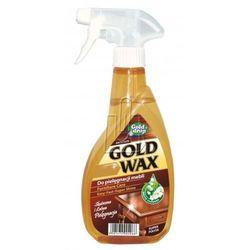 Antystatyczny płyn do czyszczenia i pielęgnacji mebli Gold Wax 400ml