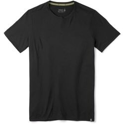 Smartwool Merino Sport 150 Shortsleeve Shirt Men, czarny L 2021 Odzież do jogi