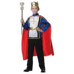 Kostium Król Deluxe dla chłopca - S - 104 cm