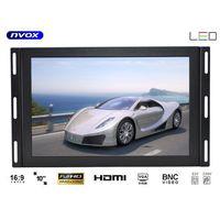 """Monitory samochodowe, NVOX OP1020VHC IPS Monitor dotykowy IPS open frame LED 10"""" FULL HD VGA HDMI USB AV 12V 230V"""