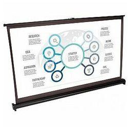 Ekran projekcyjny mobilny na biurko ze stojakiem 50'' LTC PST50