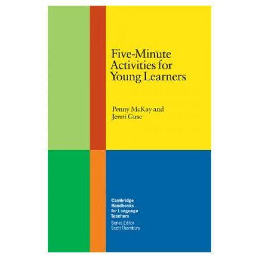 Książki do nauki języka, Five-Minute Activities For Young Learners. Cambridge Handbooks For Language Teachers (opr. miękka)