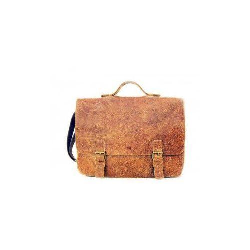 """Pokrowce, torby, plecaki do notebooków, JAZZY WANTED 24 torba/ teczka skóra naturalna firmy Daag na ramię unisex z miejscem na laptopa 15,4"""""""