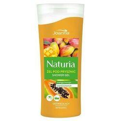 Joanna Naturia Body Żel pod prysznic mango & papaja 100 ml - Joanna OD 24,99zł DARMOWA DOSTAWA KIOSK RUCHU