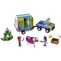 Klocki dla dzieci, 41371 PRZYCZEPA DLA KONIA MII (Mia's Horse Trailer) KLOCKI LEGO FRIENDS