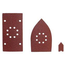 Zestaw papierów ściernych SMS30A 92. 100 mm P80/100/120 30 szt. RYOBI