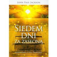 Książki religijne, Siedem dni za zasłoną (opr. miękka)