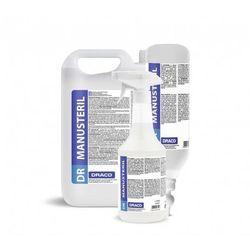 10x DR MANUSteril Płyn do dezyfekcji dłoni i powierzchni, butelka 1L bez dozownika