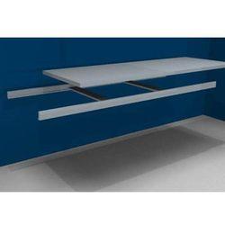 Dodatkowa półka w komplecie z trawersami i półką stalową, szer. 2500 mm, gł. 800