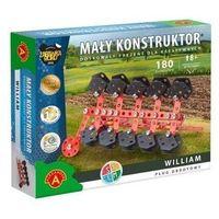 Zestawy konstrukcyjne dla dzieci, Mały konstruktor Maszyny Rolnicze - William ALEX