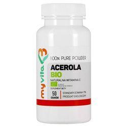 Acerola sproszkowany sok BIO (MyVita) 50g