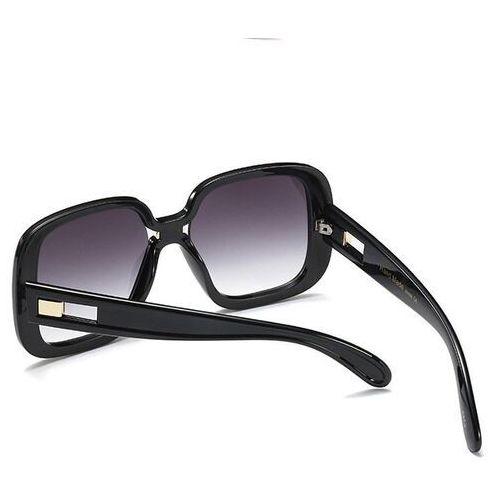Okulary przeciwsłoneczne, Okulary przeciwsłoneczne damskie kwadratowe czarne