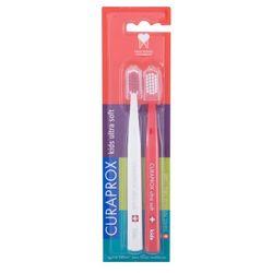 Curaprox Kids Ultra Soft Special Edition szczoteczka do zębów 2 szt dla dzieci