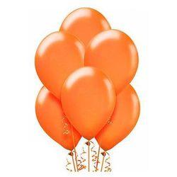 Balony lateksowe średnie - 10 cali - pomarańczowe - 100 szt.