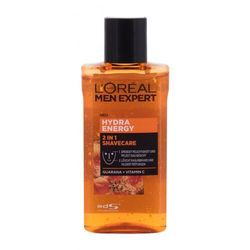 L´Oréal Paris Men Expert Hydra Energy 2in1 żel do golenia 125 ml dla mężczyzn