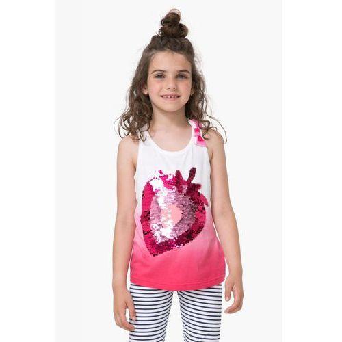 Podkoszulki dziecięce, Desigual podkoszulek dziewczęcy Whitehorse 152 wielokolorowy