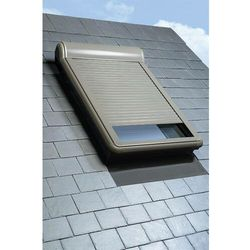 Roleta na okno dachowe FAKRO ELECTRO 230V 66x98 zewnętrzna elektryczna