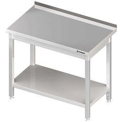 Stół przyścienny z półką 600x600x850 mm | STALGAST, 980046060