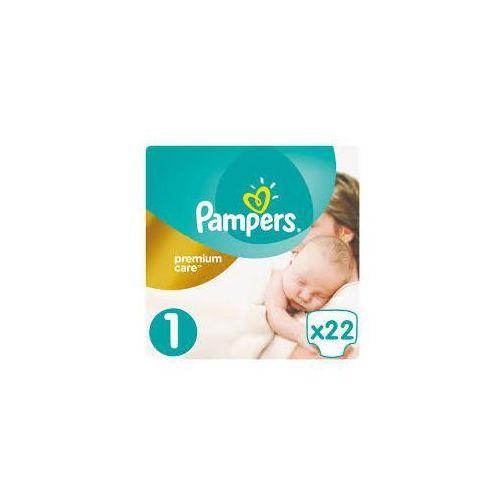 Pieluchy jednorazowe, PAMPERS Premium Care 1 New Baby pieluchy 22szt pieluszki