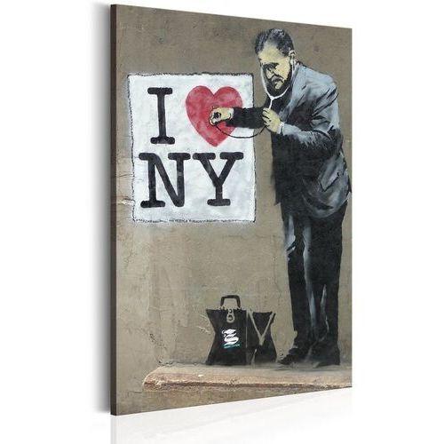Obrazy, Obraz - I Love New York by Banksy