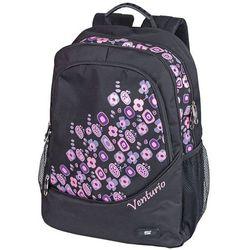 Plecak szkolno-sportowy Venturio czarny