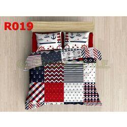 Pościel 3 D bawełna100% 160 x200 +2 poduszki 70x80 R019